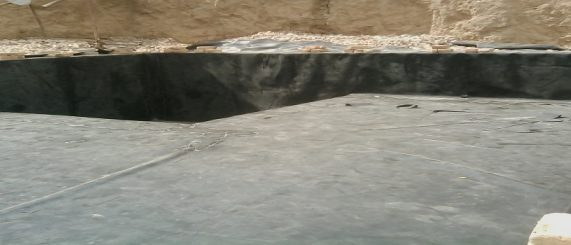 Basement waterproofing membrane, PVC Geomembrane
