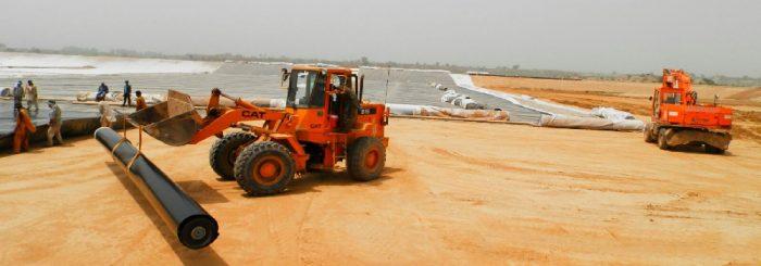 Landfill project, landfill membrane Pakistan, landfill membrane UAE, Landfill membrane Russia, Landfill membrane USA,