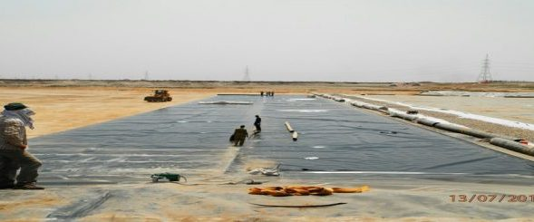 Waste management pond, lining, geomembrane manufacturers in UAE, Geomembrane installation in Saudi Arabia, Geomembrane in Qatar, Geomembrane in Russia, Geomembrane in Turkey,